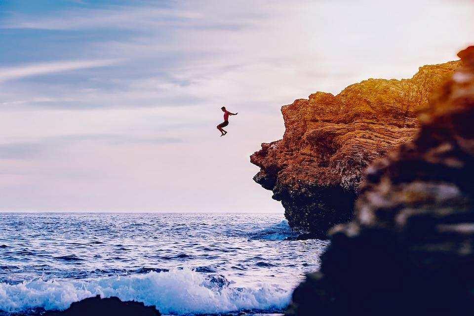 extreme sporlar yamaç dalışı