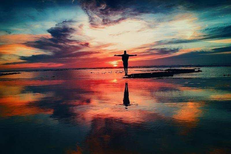 pozitif değişim günbatımı yalnız