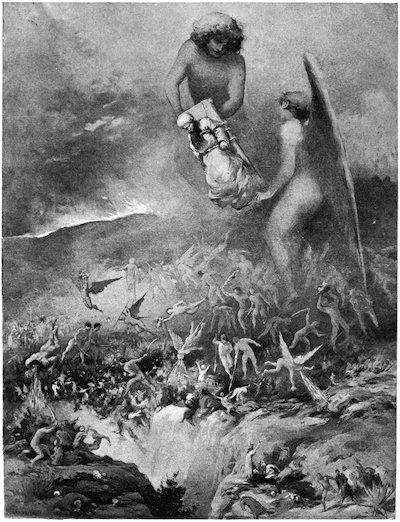 binbir gece masalları çizim letchford