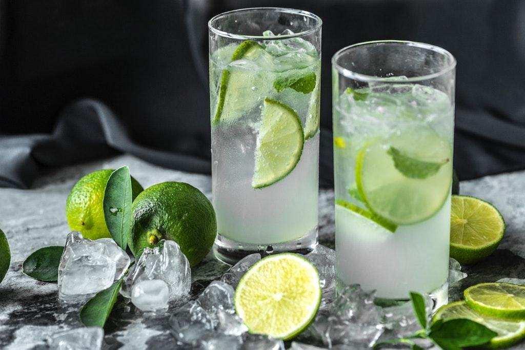 kolay kokteyl gin cin limon buz