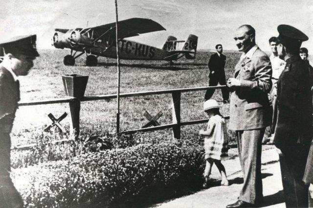 atatürk türkiye havacılık tarihi