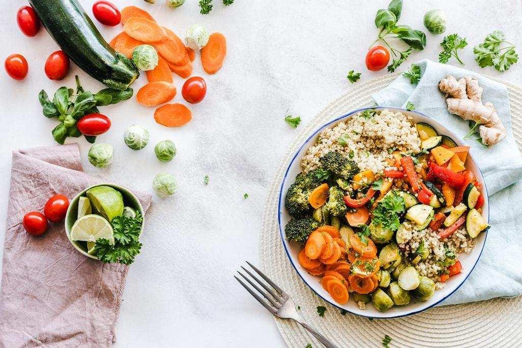 salata sağlıklı beslenme
