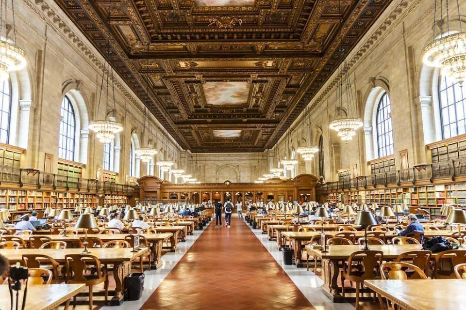 NY halk kütüphanesi