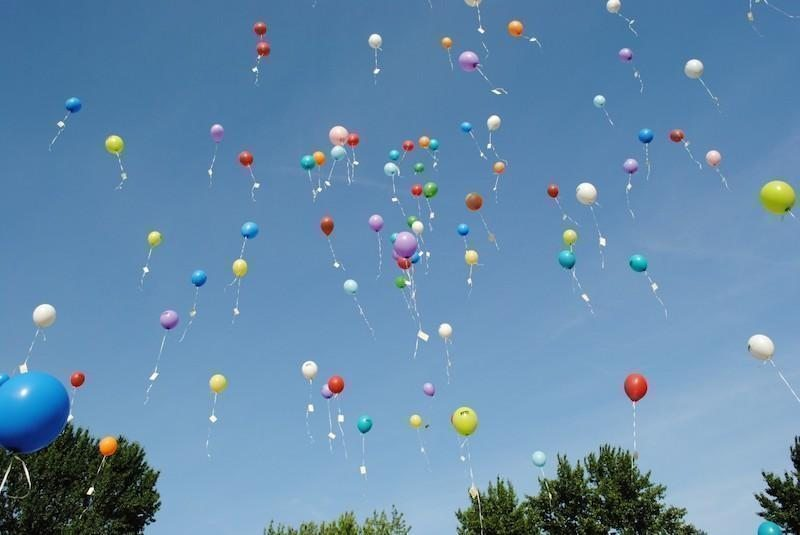 balon gökyüzü