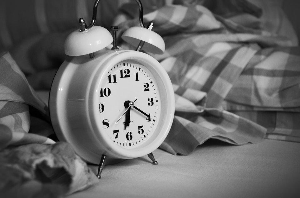 saat yatak uyku