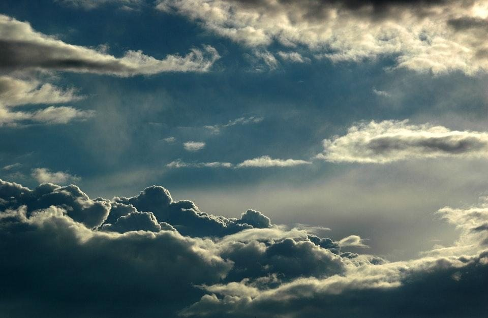 gökyüzü bulutlar