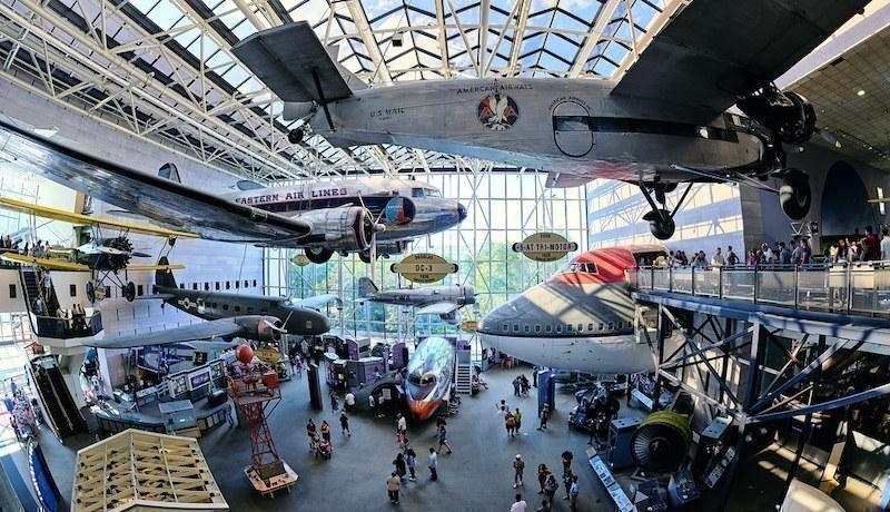 ulusal havacılık ve uzay müzesi abd