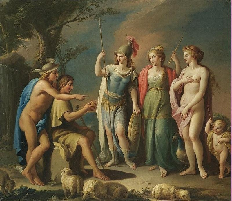 José Camarón Boronat, The Judgement of Paris