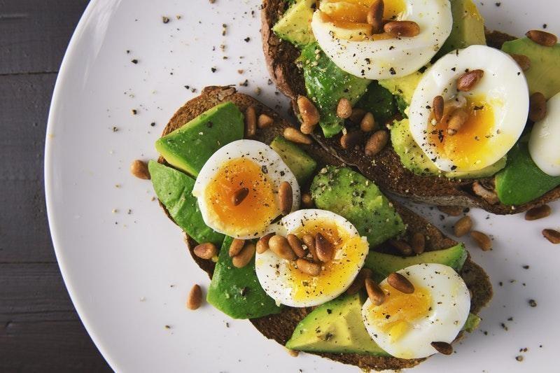 yumurta salata keto diyet