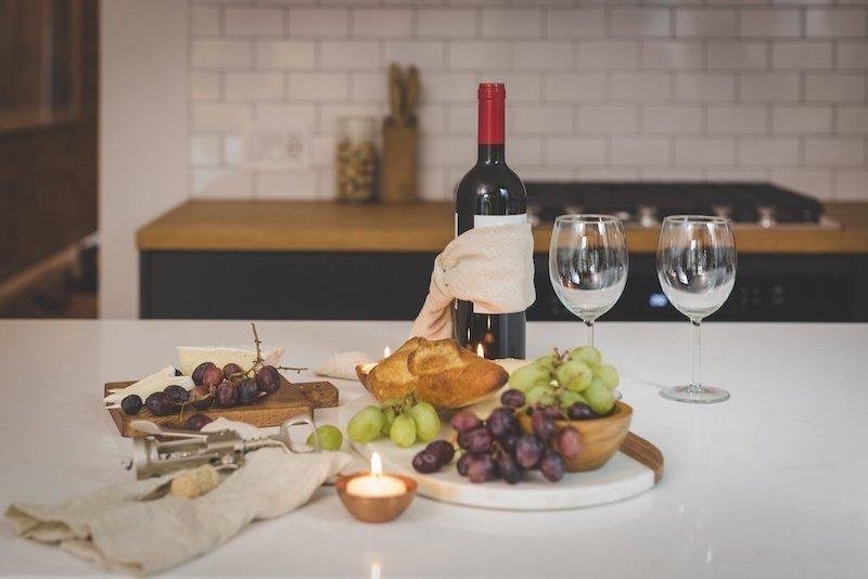 kırmızı şarap üzüm sofra