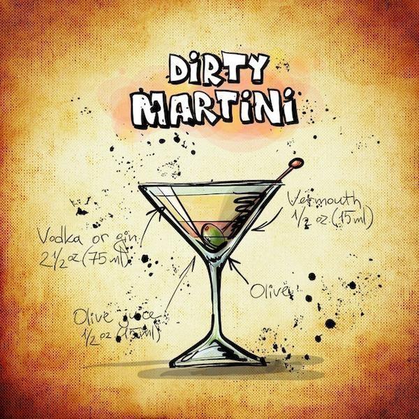 kirli martini