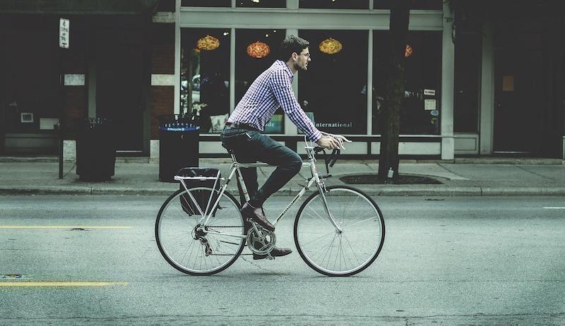 bisikletli yol