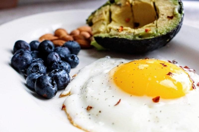 yumurta meyve keto diyet