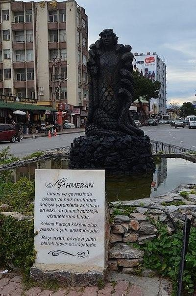 şahmeran heykeli tarsus