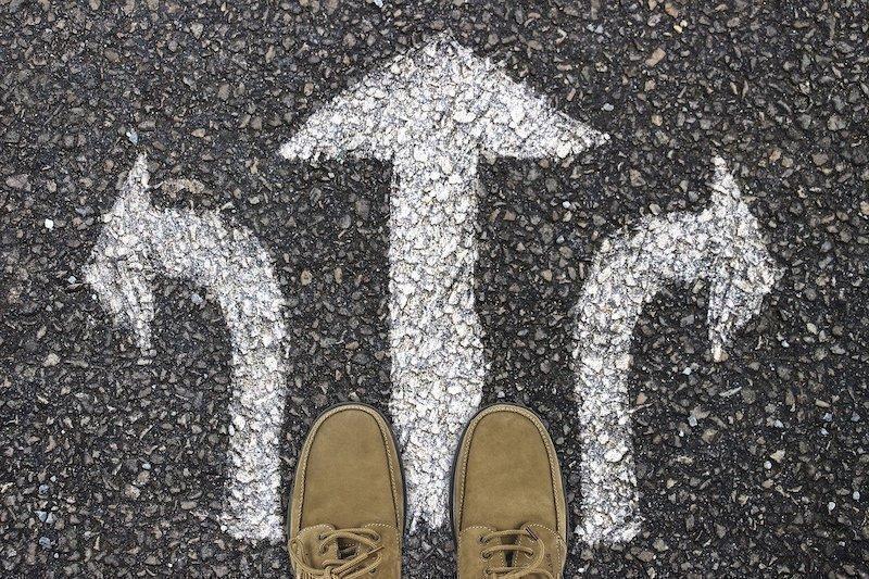 yol ayrımı