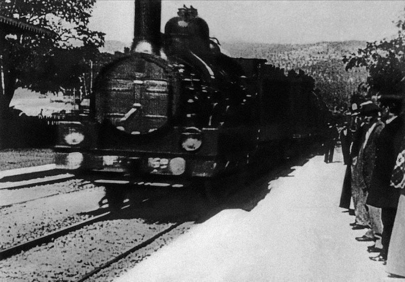 Bir Trenin La Ciotat Garına Gelişi