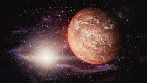 mars güneş