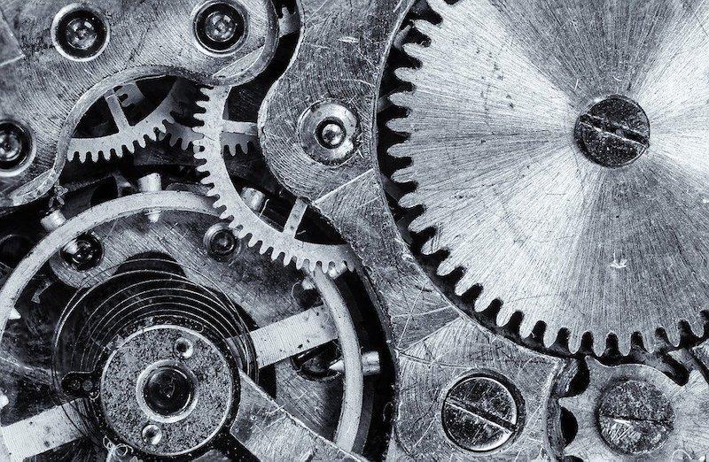 saat mekanizması zaman