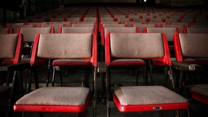 boş tiyatro salonu