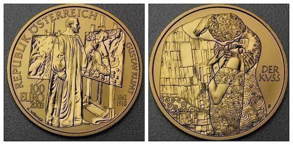 gustav Klimt special euro