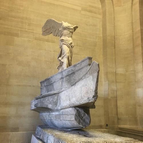 Semadirekli Nike Heykeli Louvre