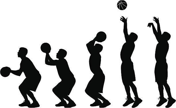şut basketbol çizim