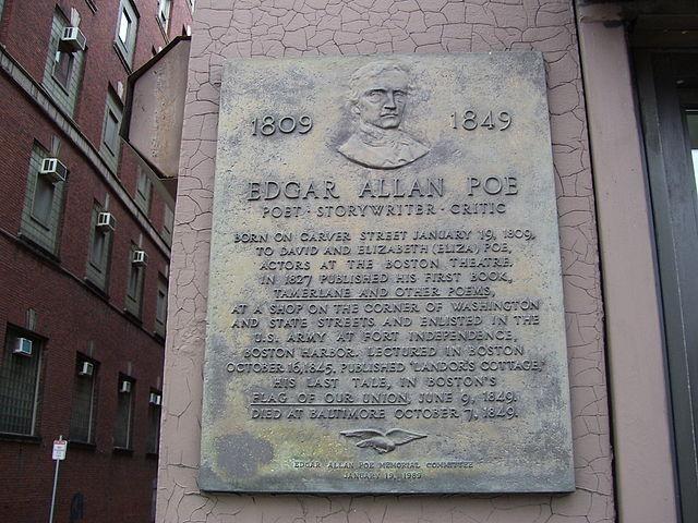 Edgar Allan Poe boston