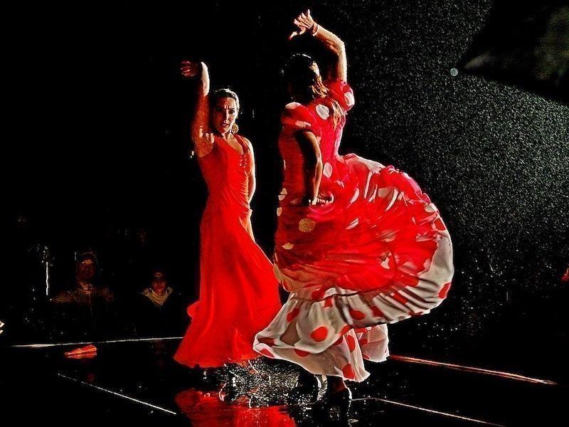 flamenko dancers