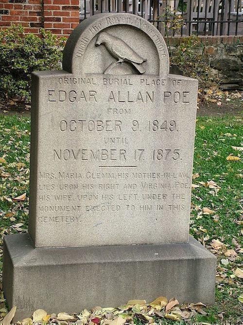 Edgar Allan Poe mezarı