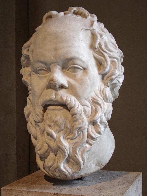 Sokrates Büstü (Louvre Müzesi, Paris)