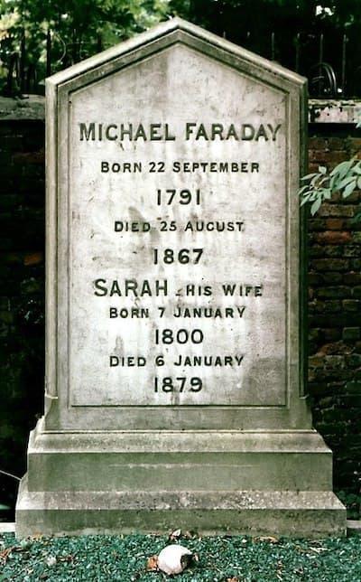michael faraday grave