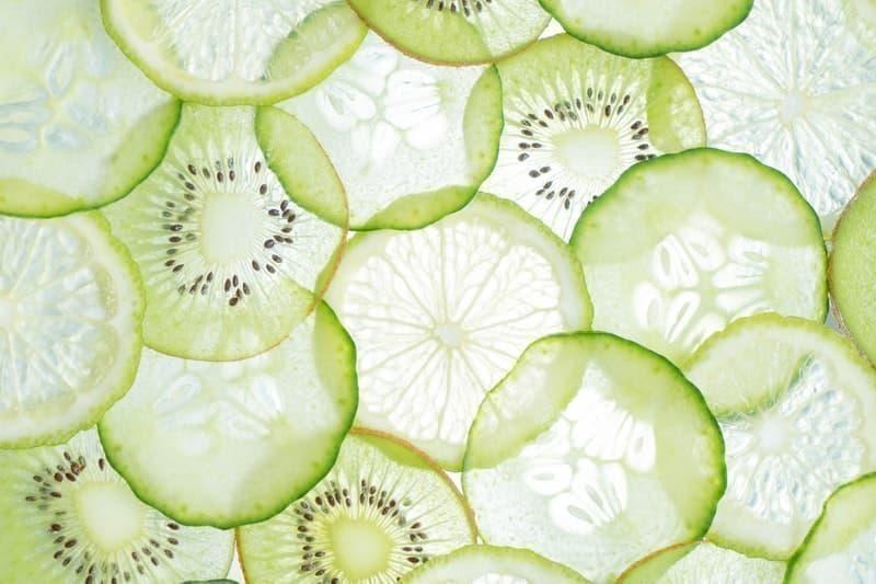 yeşil meyveler