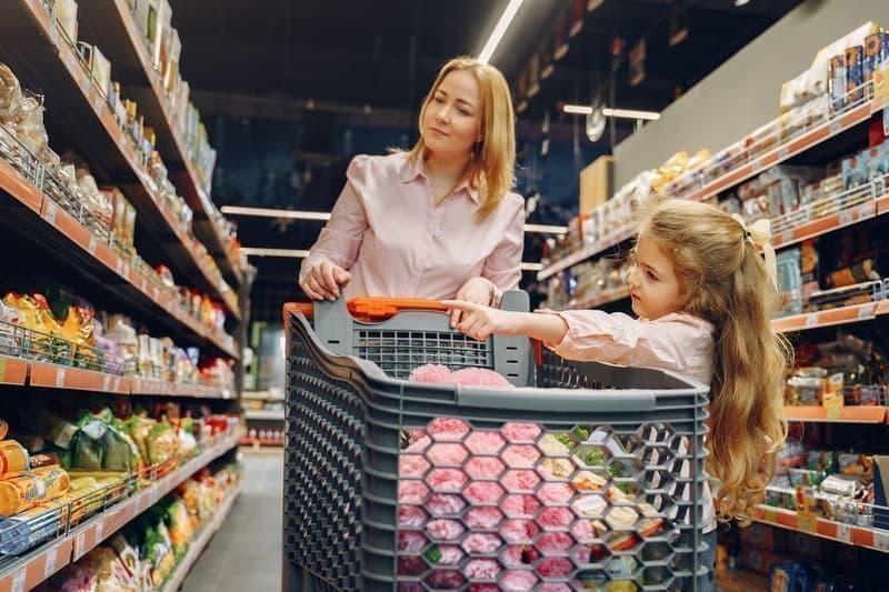 aile alışveriş süpermarket
