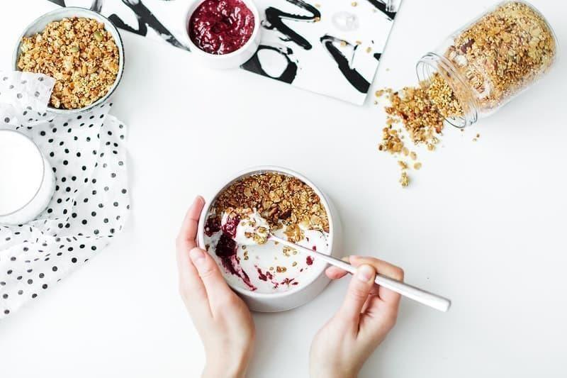 sağlıklı beslenme yoğurt yulaf