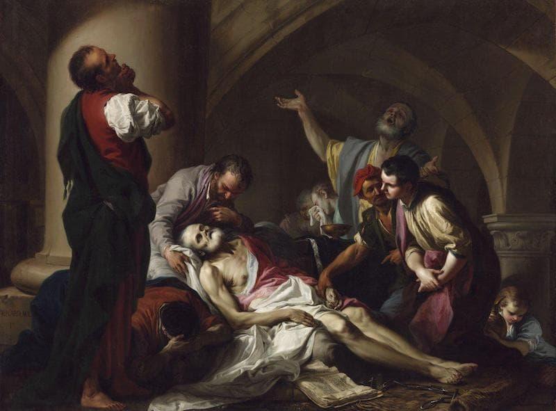 Giambettino Cignaroli; The Death of Socrates, 1759