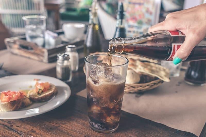 asitli içecek cola