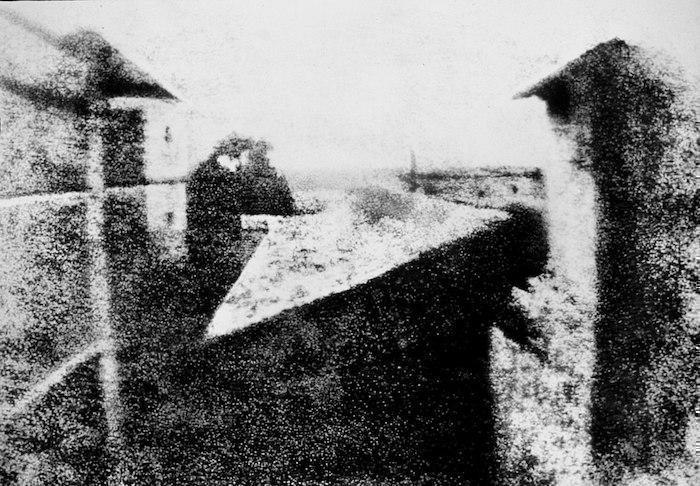Pencereden Görünüm, Joseph Nicéphore Niépce