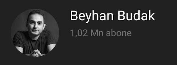 Beyhan budak youtube kanalı