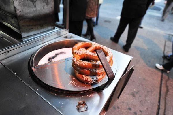 new york pretzel amerikan mutfağı