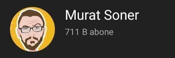 murat soner youtube kanalı