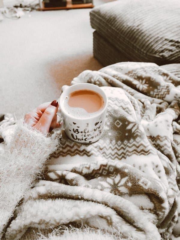 sıcak çikolata sıcaklık konfor