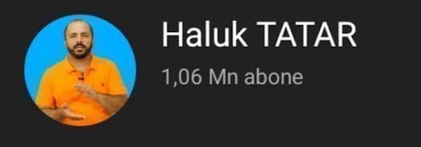 haluk tatar youtube kanalı