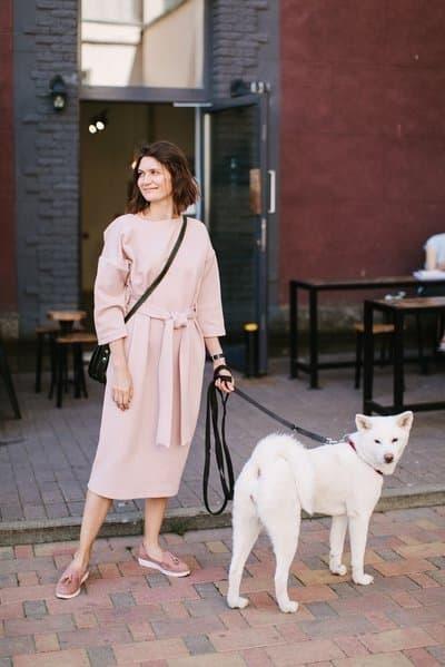 köpek kadın sokak evcil hayvan dostu