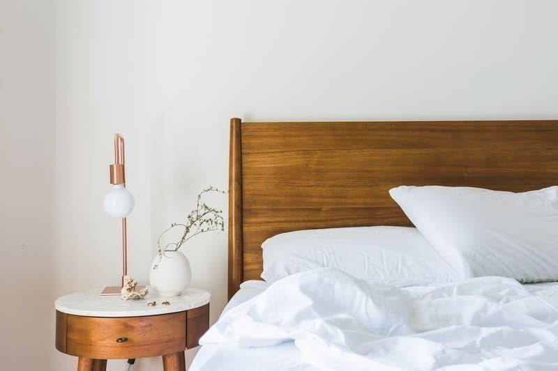 yatak odası ahşap beyaz