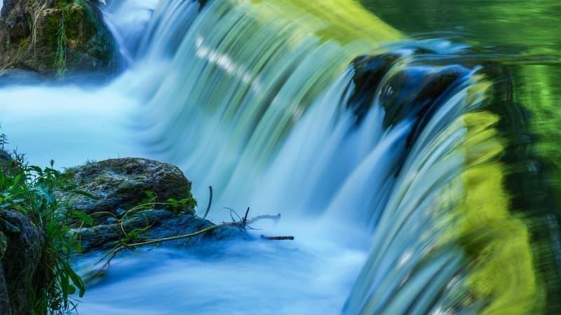 nehir şelale
