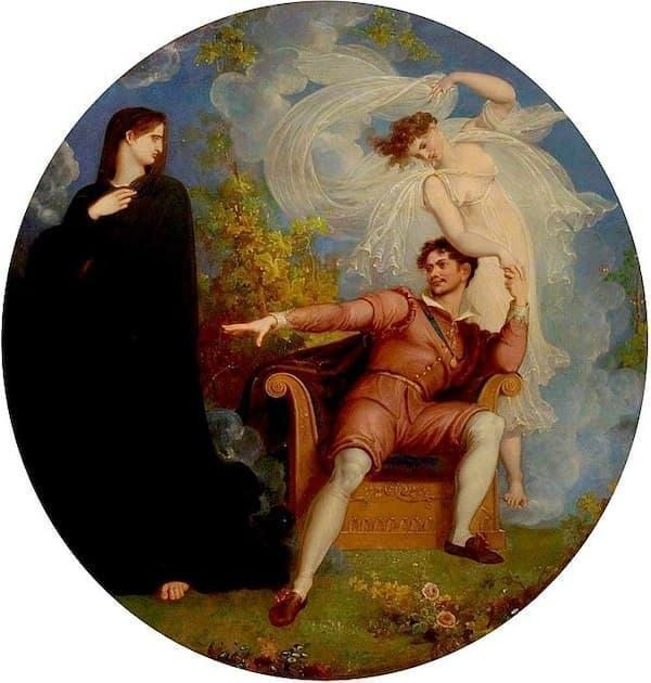 Trajedi ve Komedi Arasında William Shakespeare, Richard Westall, 1825