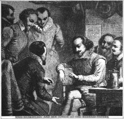 Shakespeare ve Jonson, Mermaid Tavernası