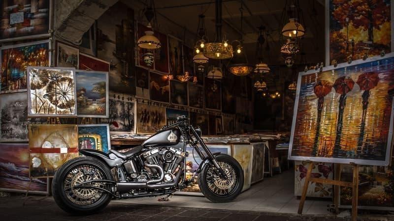 motosiklet tipi choper
