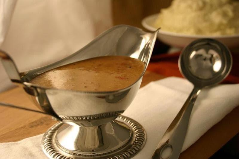 amerikan mutfağı gravy sos
