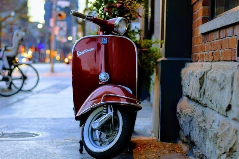 motosiklet tipi scooter